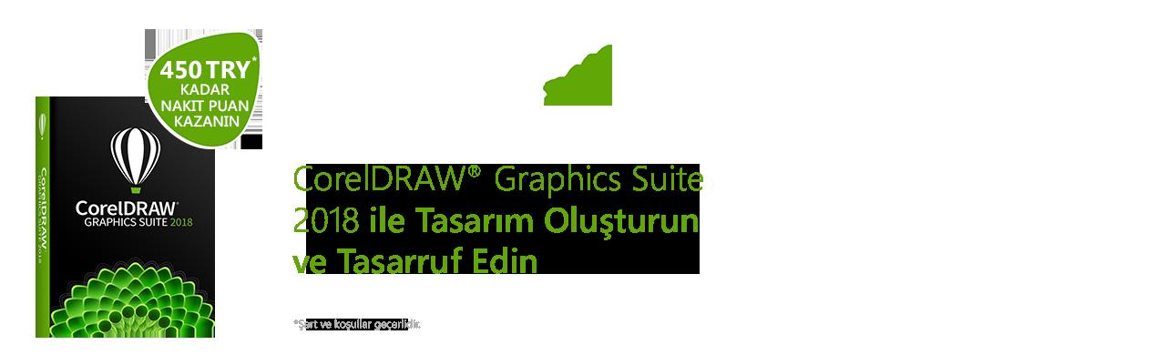 Corel DRAW Graphics Suite 2018 Cashback Campaign